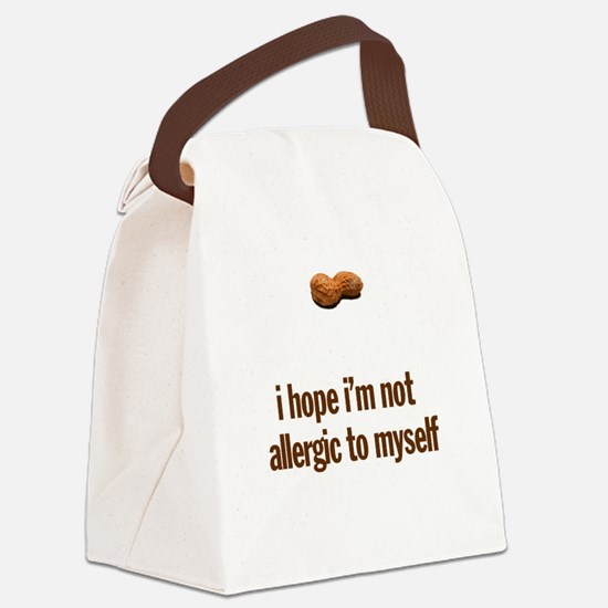 Peanut Allergy Baby Clothes Canvas Lunch Bag