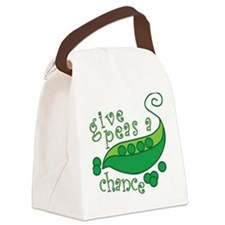 Cute Baby changing Canvas Lunch Bag