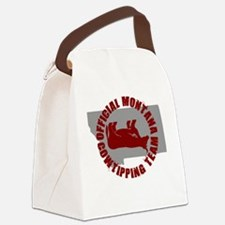 FUNNY MONTANA SHIRT T-SHIRT C Canvas Lunch Bag