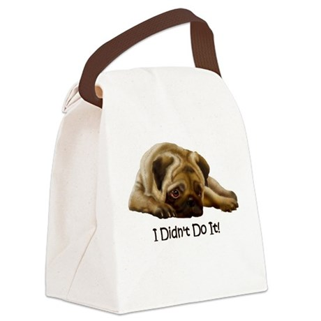 I Didn't Do It! Canvas Lunch Bag