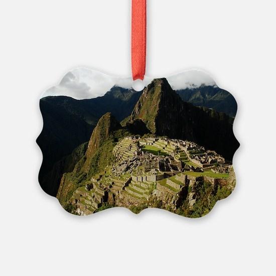 Machu Picchu - Christmas Eve 2008.jpg Ornament