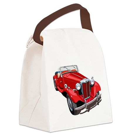 The MG-TD Canvas Lunch Bag