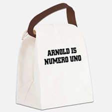 ARNOLD IS NUMERO UNO Canvas Lunch Bag