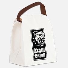 Team Pitbull Canvas Lunch Bag