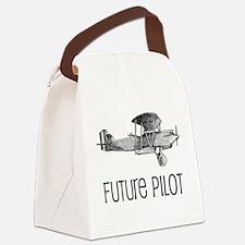 Future Pilot Canvas Lunch Bag