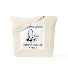 funny writiing joke Tote Bag
