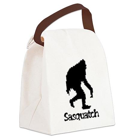 Sasquatch Canvas Lunch Bag