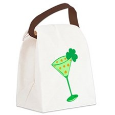 Shamrocktini Canvas Lunch Bag