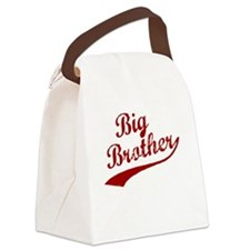 Big Brother (Red Text) Canvas Lunch Bag