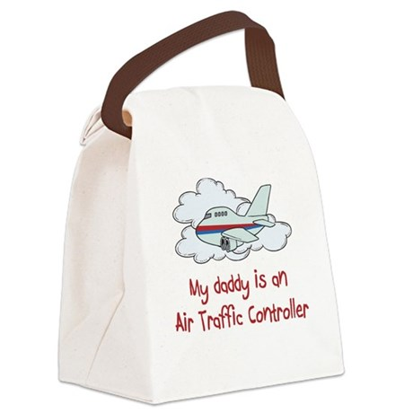 air Traffic Controller Canvas Lunch Bag