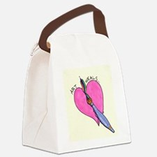 Cute Healer Canvas Lunch Bag