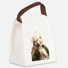 Funny Marilyn Canvas Lunch Bag