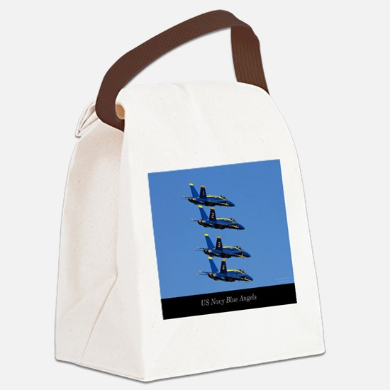 Unique Jet a Canvas Lunch Bag