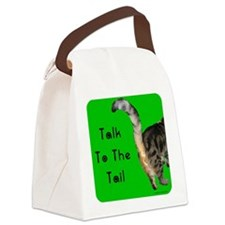 Cute Cat Canvas Lunch Bag