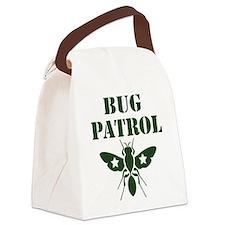 Bug Patrol Canvas Lunch Bag