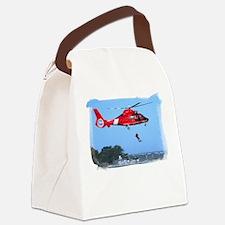 Coast Guard Chopper Canvas Lunch Bag