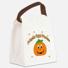 Pumpkin Patch Princess Canvas Lunch Bag