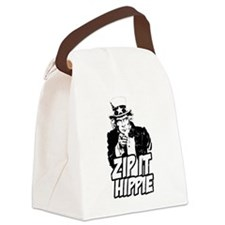 Zip It Hippie Canvas Lunch Bag