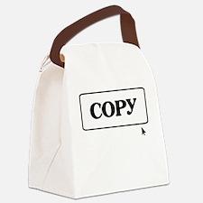 Copy (Paste) Identical Twins - Canvas Lunch Bag