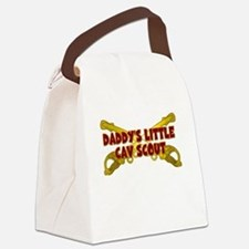Daddy's Little Cav Scout Canvas Lunch Bag