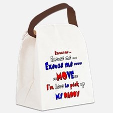 pick up daddy Canvas Lunch Bag