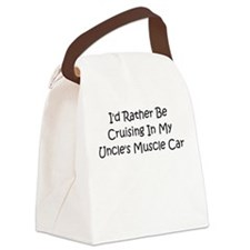 In My Uncle's Muscle Car Canvas Lunch Bag