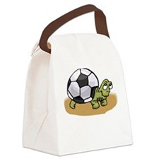 Funny Soccer baby Canvas Lunch Bag