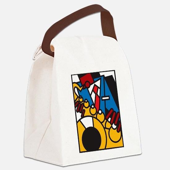 Cool Sonny Canvas Lunch Bag