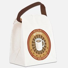Instant Bicyclist Canvas Lunch Bag