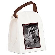 Cute Models Canvas Lunch Bag