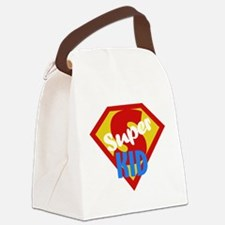 Super Kid Canvas Lunch Bag