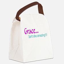 Grace...Canvas Lunch Bag