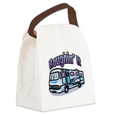 Roughin' it Canvas Lunch Bag
