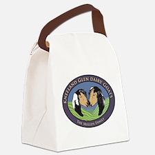 Kneeland Glen Dairy Goats Canvas Lunch Bag