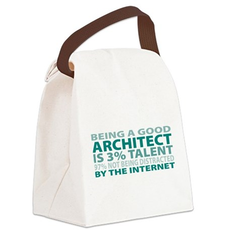Good Architect Canvas Lunch Bag