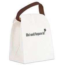 What Would Kasparov Do Canvas Lunch Bag