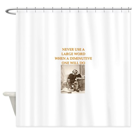 AUTHOR5 Shower Curtain By WritersLane