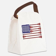 Lacrosse AmericasGame Canvas Lunch Bag