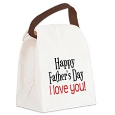 Happy Father's Day Canvas Lunch Bag