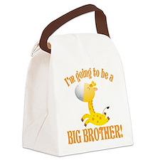 Big Brother Giraffe Canvas Lunch Bag
