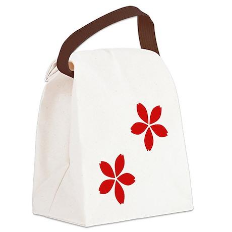 Sakura Blossoms Canvas Lunch Bag