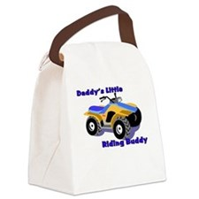 Daddy's Riding Buddy Canvas Lunch Bag