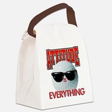 Attitude is Everything - Golf Canvas Lunch Bag