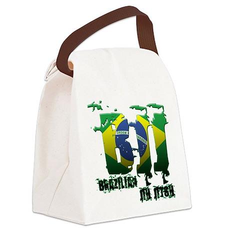 BBJ - Brazilian Jiu Jitsu Canvas Lunch Bag