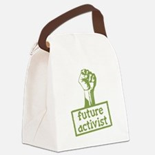 Future Activist Canvas Lunch Bag