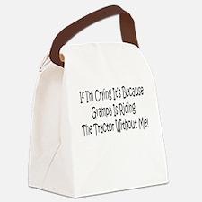 Ride My Grampas Tractor Canvas Lunch Bag