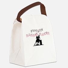 Canvas Lunch Bag-Future Barrel Racer