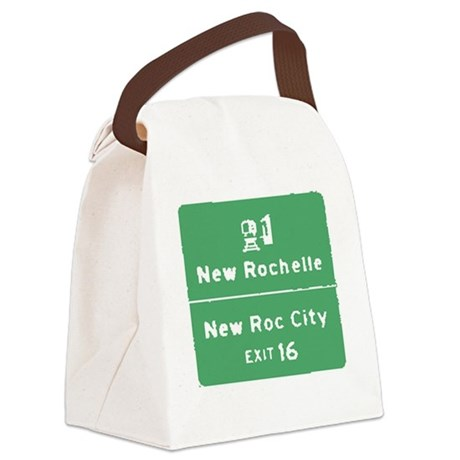 New Rochelle T-shirts Canvas Lunch Bag