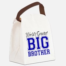 World's Greatest Big Brother Canvas Lunch Bag