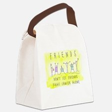 Cancer Friends Canvas Lunch Bag